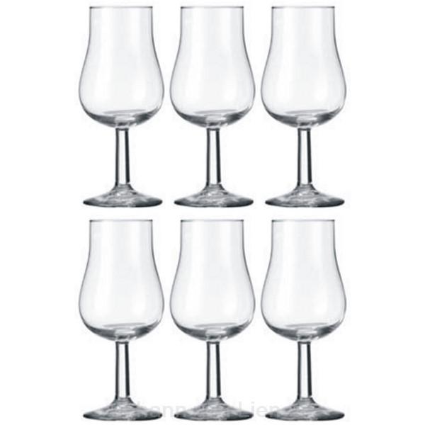 6 tasting und nosing gl ser kelchglas single malt whisky rum nosingglas ebay. Black Bedroom Furniture Sets. Home Design Ideas