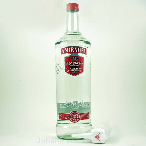 Smirnoff-Red-Label-Vodka-3-Liter-Riesenflasche-Wodka